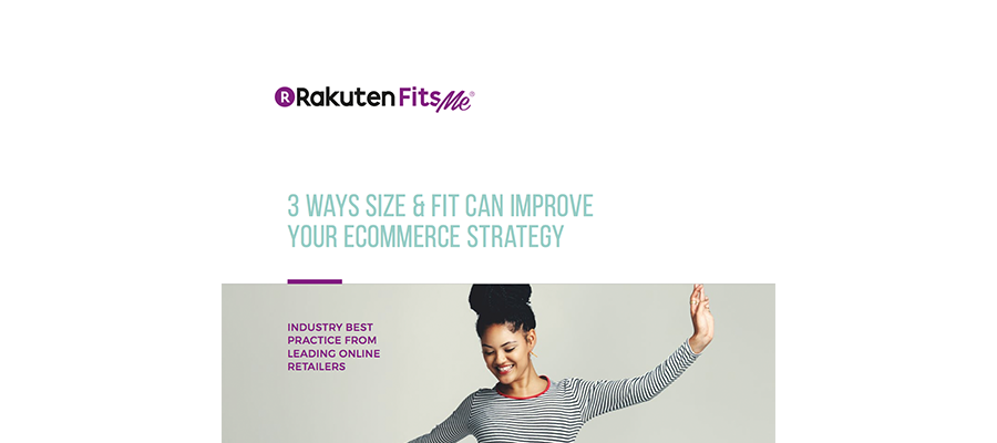 Whitepaper: 3 ways size and fit can improve your ecommerce strategy