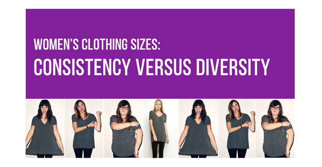 Webinar: Women's clothing sizes Consistency vs Diversity